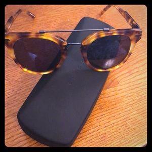 NIB! Tortoise shell sunglasses by Five Four!